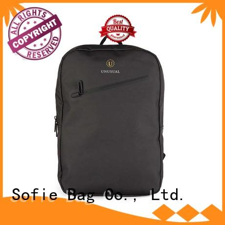 Sofie lattice jacquard fabric briefcase laptop bag manufacturer for office