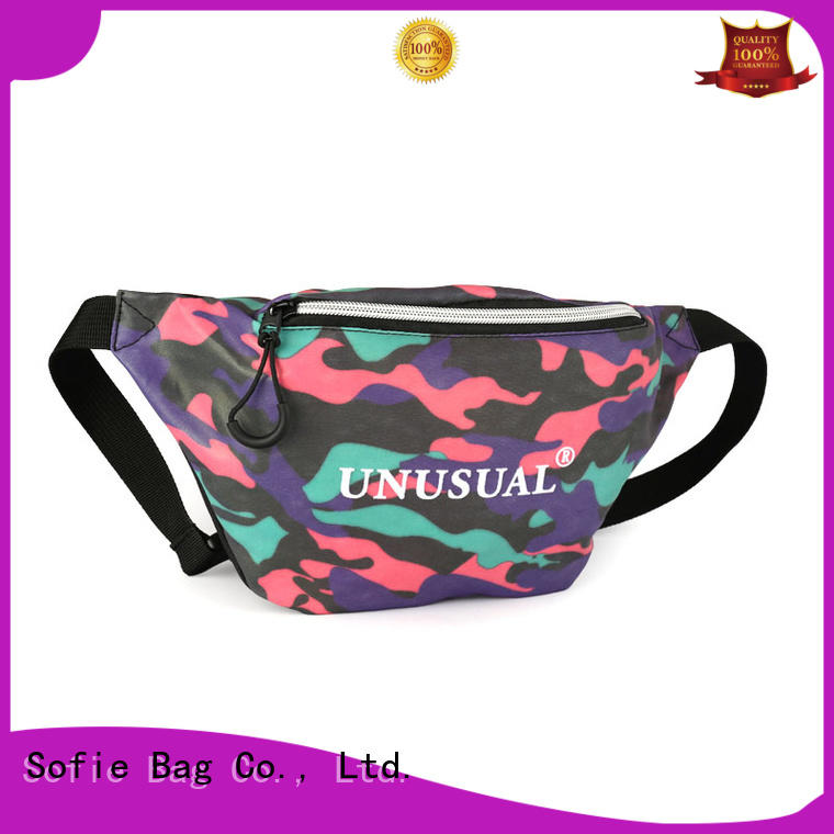 Sofie light weight waist pack personalized for jogging