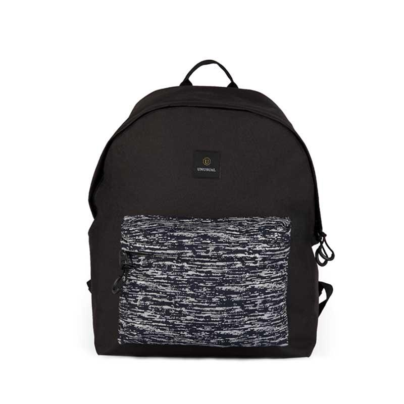 Unisex simple classic 600D polyester reflective backpack 201901003