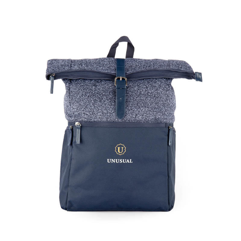 Casual stylish kintted backpack 20181001