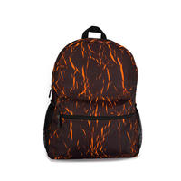 Unique wrinkled printing classic backpack 185103