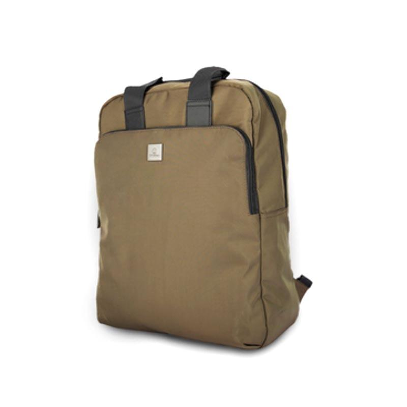 Fashion soft twill nylon business laptop backpack S18029