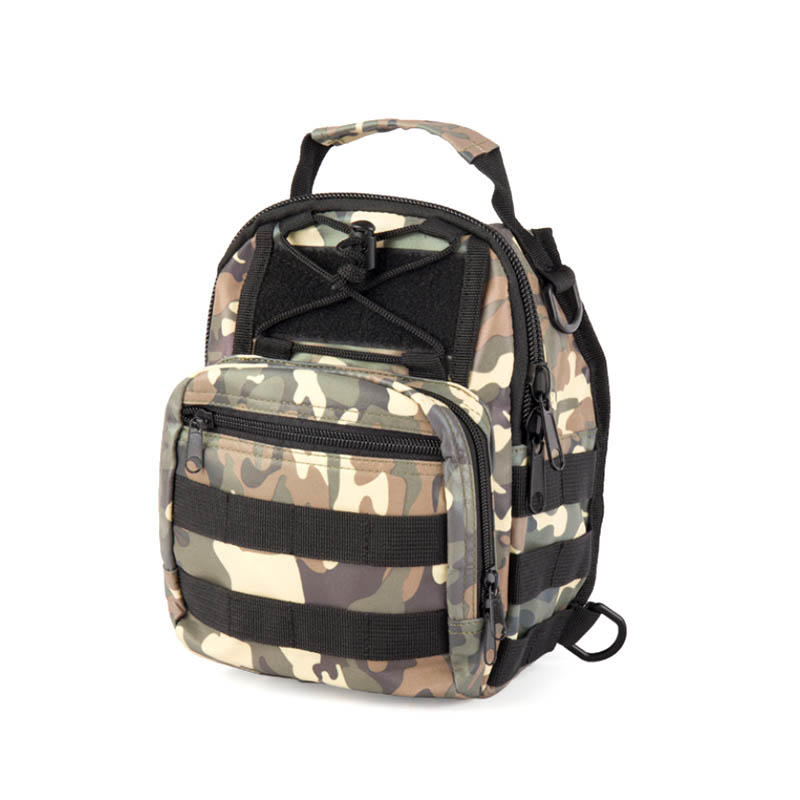 Reflective camouflage tactical multifunctional chest bag 201901019