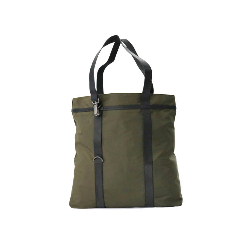 Simple twill nylon tote shopping bag S18030