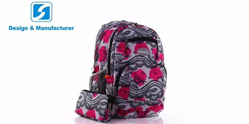 Fashion casual daily backpack for girl 20189023