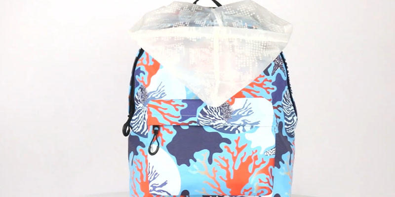 Full pattern girls backpack 201901002 display video