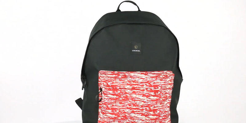 Classic reflective backpack  201901003  display video