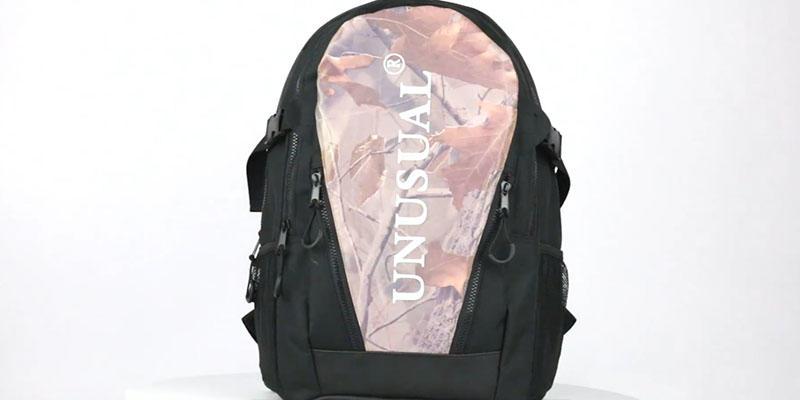 Outdoor lightweight  sport reflective backpack 201901004 reflective display video