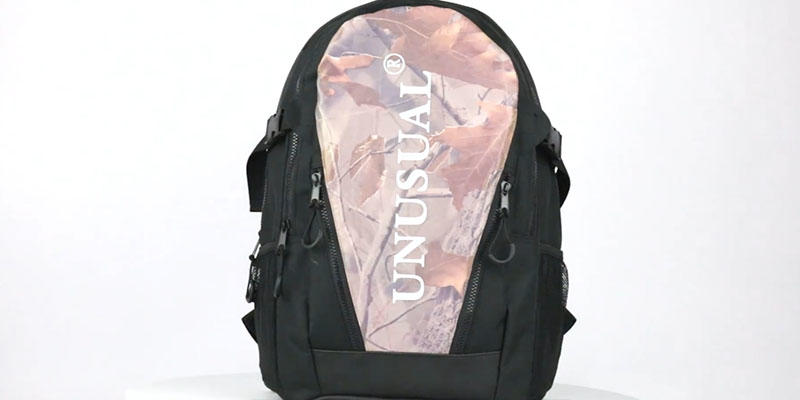 Outdoor lightweight  sport reflective backpack 201901004 reflective display video
