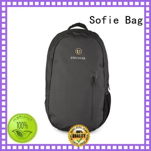 nylon shoulder straps laptop backpack series for men