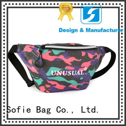 Sofie convenient waist bag supplier for jogging