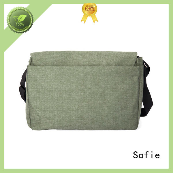 Sofie lattice jacquard fabric business laptop bag for office