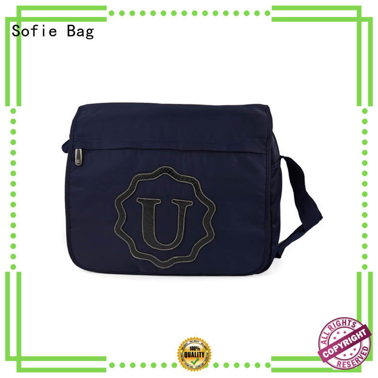 Sofie polyester business laptop bag supplier for men