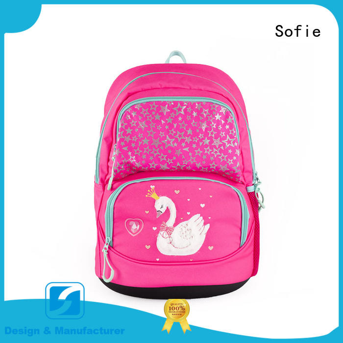 Sofie students backpack customized for children