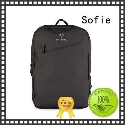 nylon shoulder straps laptop backpack wholesale for office