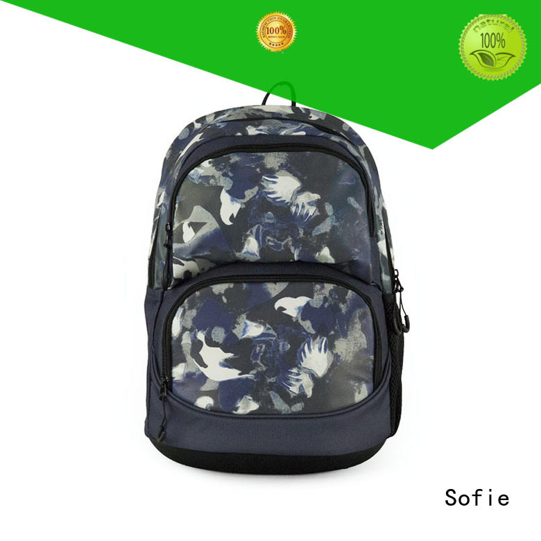 Sofie with TPU reflective hat school backpack wholesale for children