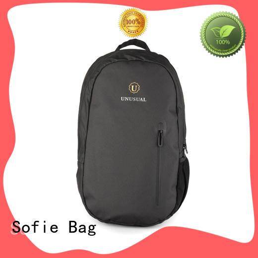 lattice jacquard fabric shoulder laptop bag directly sale for men