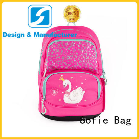 Sofie school bags for girls manufacturer for children