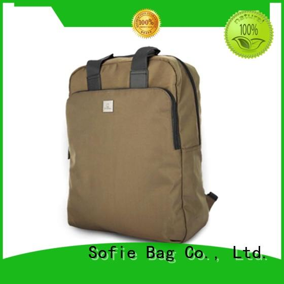 Sofie classic backpack personalized for business