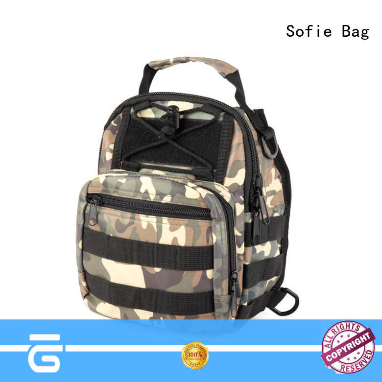 Sofie military chest bag customized for going out