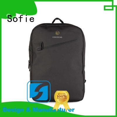 Sofie thick pipped handle laptop business bag manufacturer for men