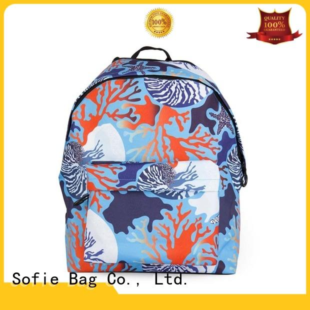 two pockets fashionable backpacks for school customized for kids Sofie