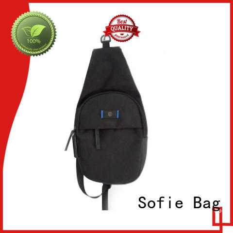 Sofie military chest bag factory direct supply for women