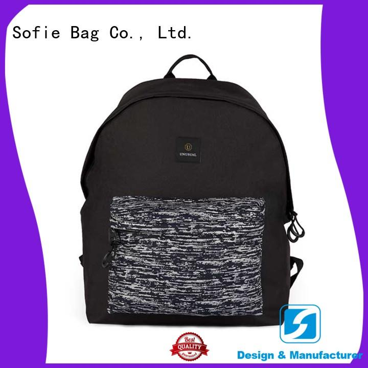 Sofie high quality classic backpack customized for school