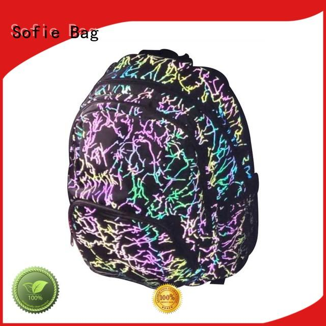 with TPU reflective hat students backpack supplier for children