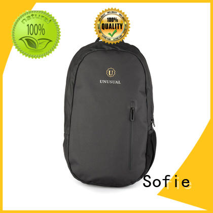 Sofie classic style polyester laptop bag for travel