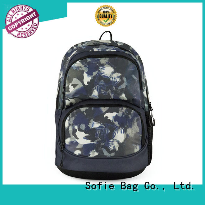 Sofie with TPU reflective hat school backpack supplier for students