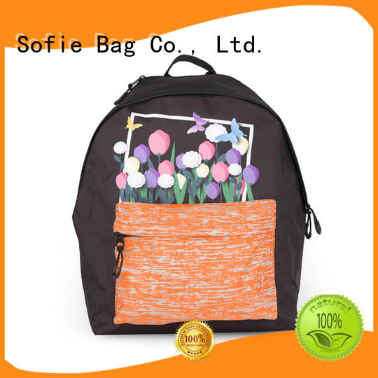 Sofie with TPU reflective hat school bag series for children