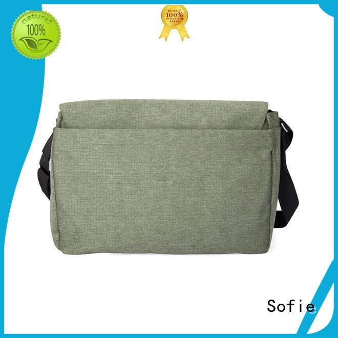 Jacquard shoulder laptop messenger bag 185114