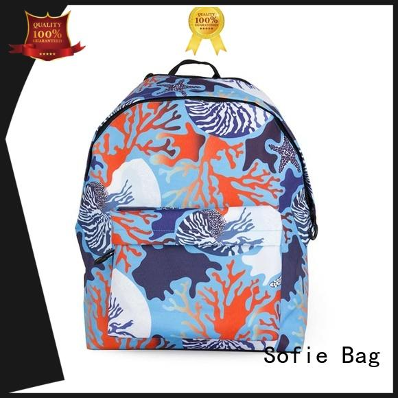 Sofie colorful students backpack series for students