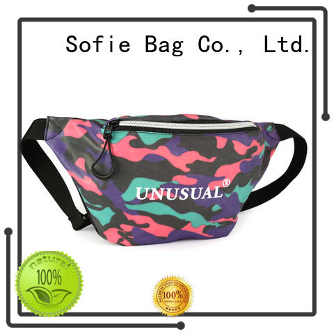 light weight waist bag wholesale for jogging