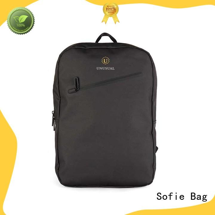waterproof waxed laptop backpack factory direct supply for men
