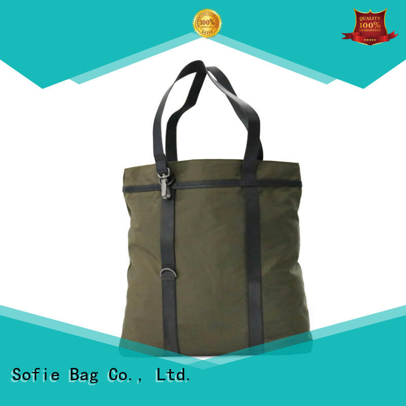 Sofie metal hooks tote bag factory direct supply for women