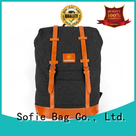 Sofie reflective backpack customized for school