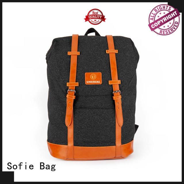 wrinkle printing canvas backpack wholesale for school