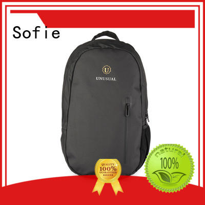 Sofie thick pipped handle laptop bag factory direct supply for office