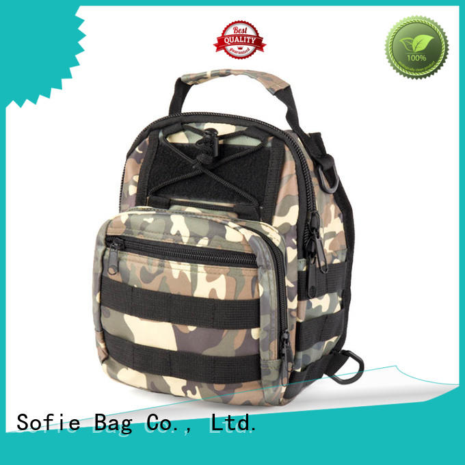 Sofie camouflage chest bag wholesale for going out