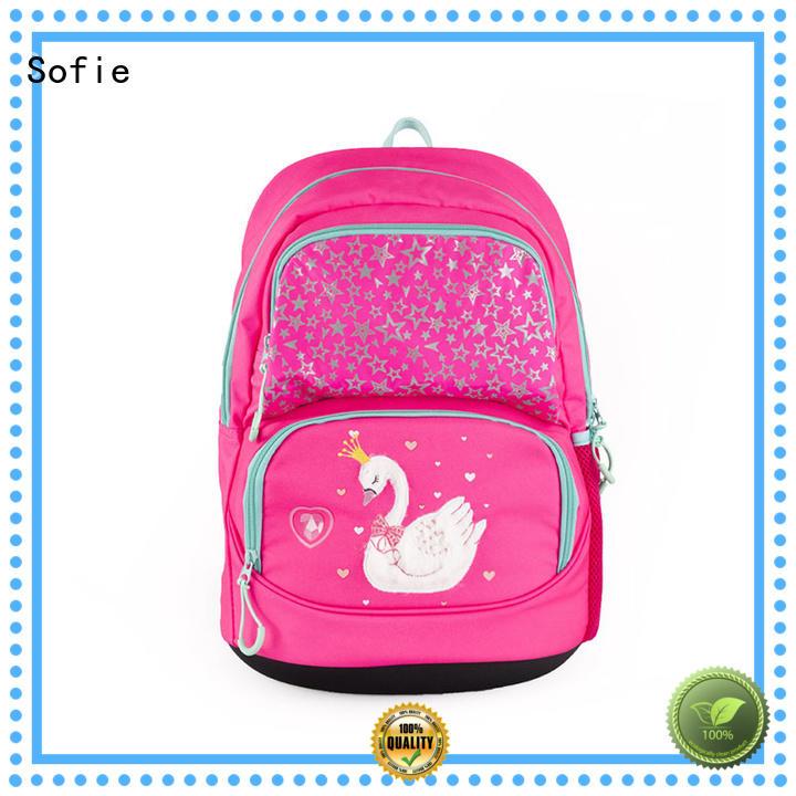ergonomic shoulder strap students backpack supplier for kids