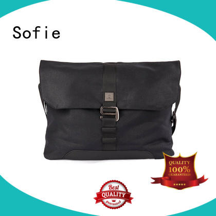 Sofie lattice jacquard fabric laptop business bag supplier for travel