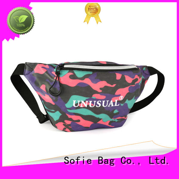 Sofie durable waist bag wholesale for jogging