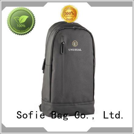 Sofie rectangular design chest bag factory direct supply for men