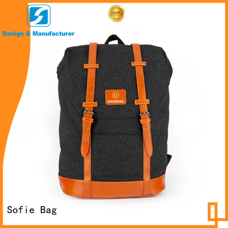 Sofie long lasting laptop backpack customized for travel