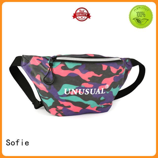 convenient waist bag manufacturer for jogging