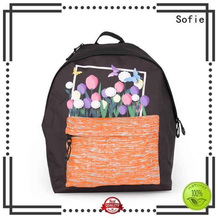 Sofie colorful students backpack manufacturer for kids