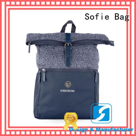 Sofie melange cool backpacks customized for school