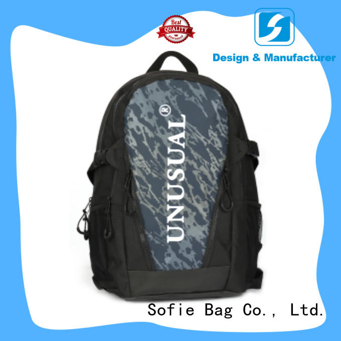 two zipper side cool backpacks supplier for travel